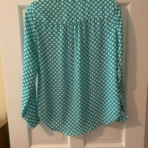 New York & Company Tops - New York & Co. Rope Print Blouse, size XS